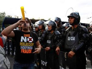 Ecuador Proteste